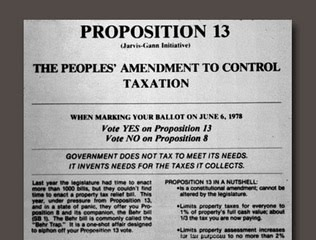 California Proposition 13 (1978)