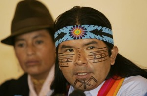 Marlon-Santi-Confederation of Indigenous Nationalities of Ecuador CONAIE