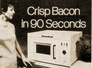 microwave-old crispy bacon in 90 seconds
