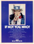 if not you, who? uncle sam poster