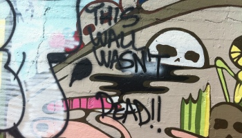 The South El Monte Arts Posse Presents Ay Corazon Tropics Of Meta - Amazing graffiti alters perspective space