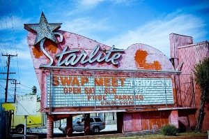 The Starlite swap meet and drive-in