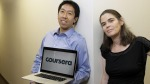Stanford Profs and Coursera founders Andrew Ng and Daphne Koller