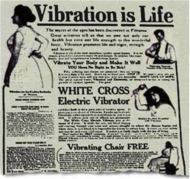 vibration is life - vibrator ad