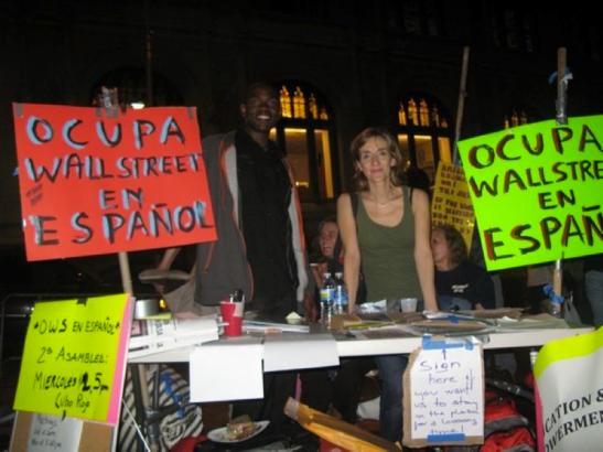 OWS in Zuccotti Park