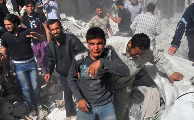Syria SIRIA_(f)_0228_-_Guerra_Ribelli_bombardamenti