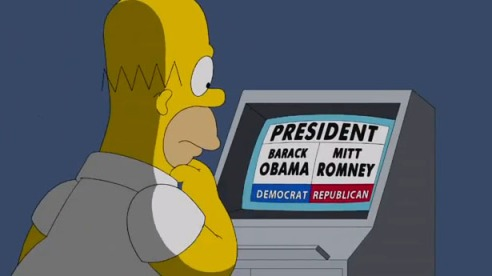 Homer-Simpson-voting-on-election-day-screenshot