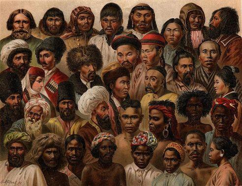 asiatic folk