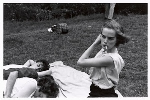 bruce davidson 1959 brooklyn gang photo