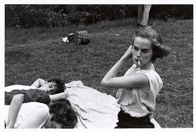 bruce davidson 1959 brooklyn gang photo