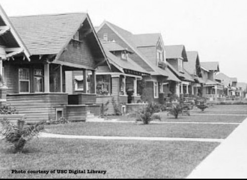 Bungalows of Jefferson Park circa WWII