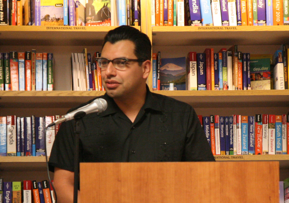 Michael Jaime Becerra book talk close up