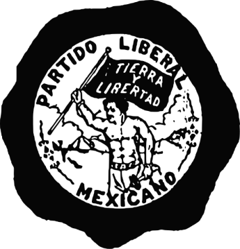 Partido Liberal Mexicano button