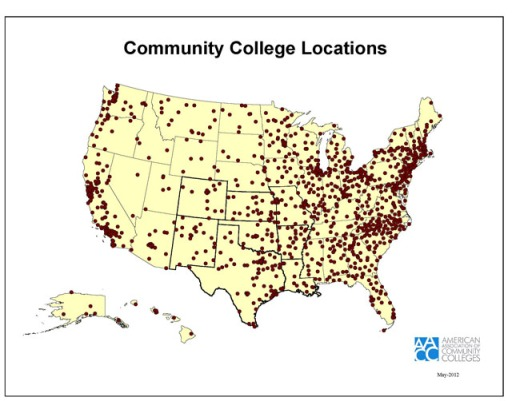 CC_Map_CommunityCollegeLocationsMay2012