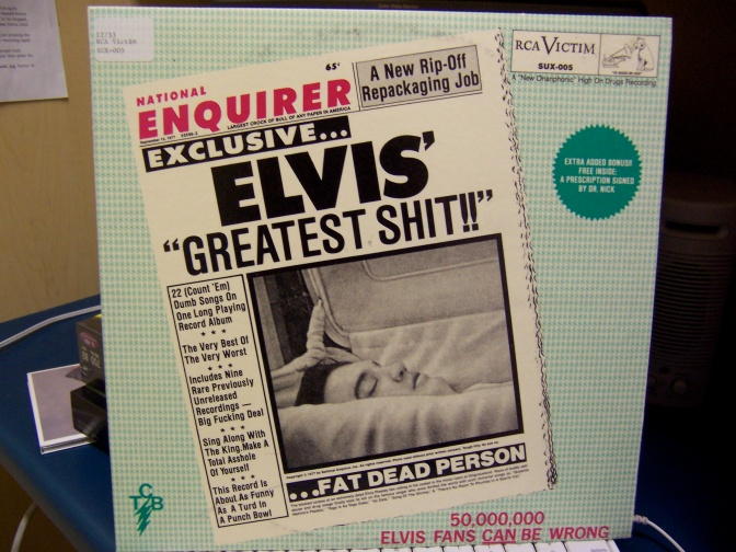 Elvis' Greatest Shit - RCA Victim