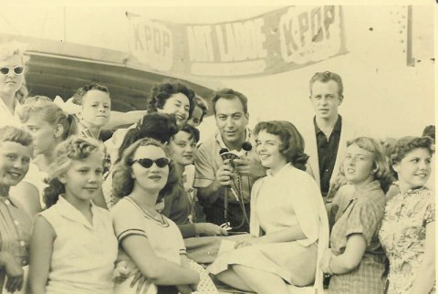 Scrivners Art & fans 1957 KPOP show