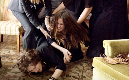 Julia Roberts attacks Meryl Streep - August Osage County