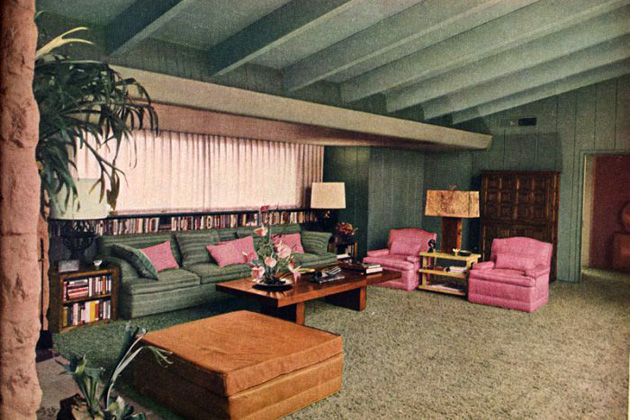 Home on the california range ranch housing in postwar for Home interiors usa