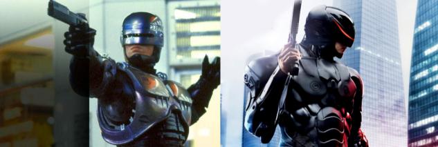 Robocop 1987 vs 2014