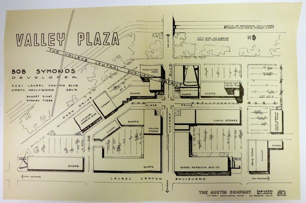 Valley Plaza plans | San Fernando Valley Relics