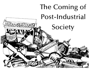 1973 - Coming of Post Industrial Society magazine image