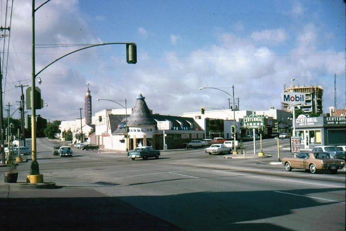 Downtown Long Beach Dennys