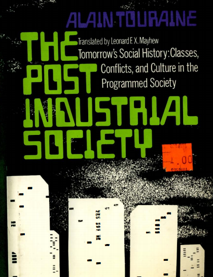 industrial and post industrial societies Extracts from this document introduction ` to what extent can britain be described as a post-industrial society ` industrial society is where the society organises production and where.