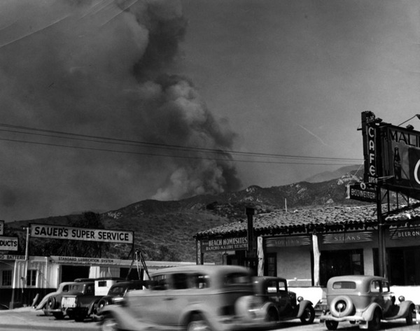 a history of the malibu wildfires in california Infernos transformed bel-air and malibu from bohemian  angeles wildfires, the rich will rebuild  of the worst droughts in recent california history.