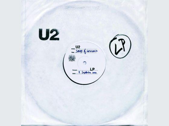 U2 songs of innocence album cover 2