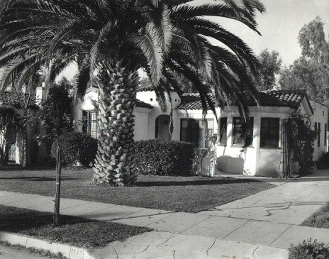 The Pierce's home in Glendale, CA