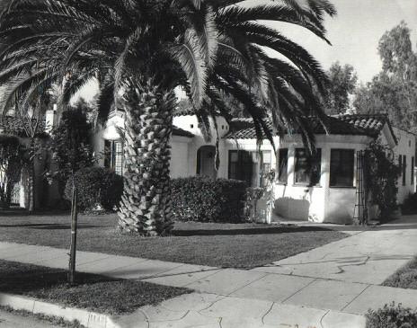 The Pierce's home in Glendale, CA
