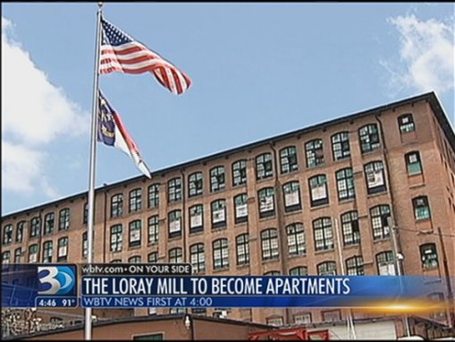 loray mill to become apartments