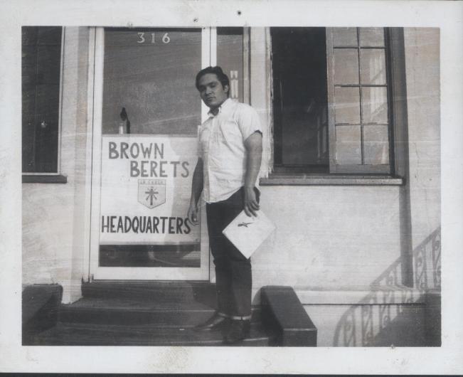 Brown Beret Pics 015