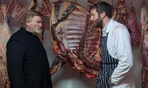 Brendan Gleeson and Chris O'Dowd in John Michael McDonagh's Calvary.