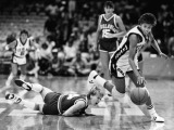 Cheryl Miller during the 1984 Olympic Games | Herald-Examiner Collection, Los Angeles Public Library
