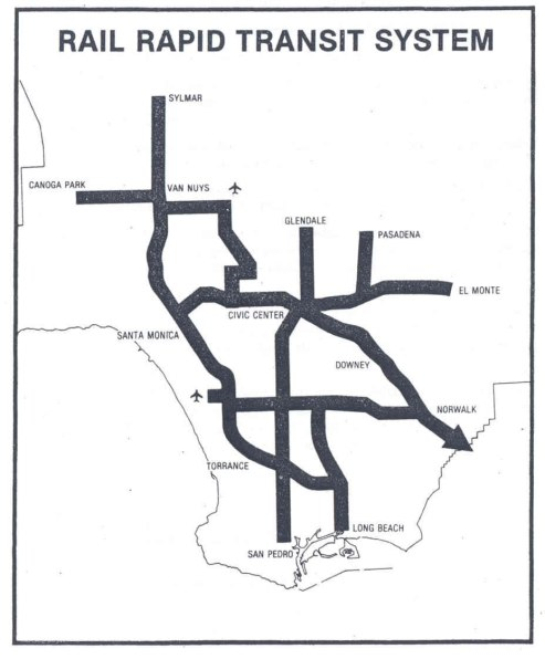 Proposed transit map