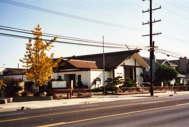 Konko Church of Gardena | Photo: Jeff Allen Collection, Los Angeles Public Library