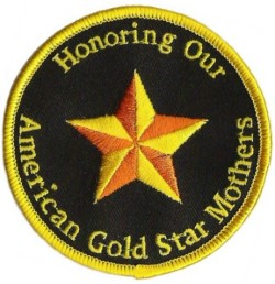 gold star mothers patch