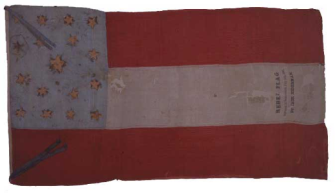 Gillis flag confederates california