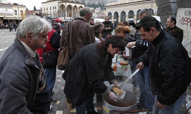 greece soup kitchen