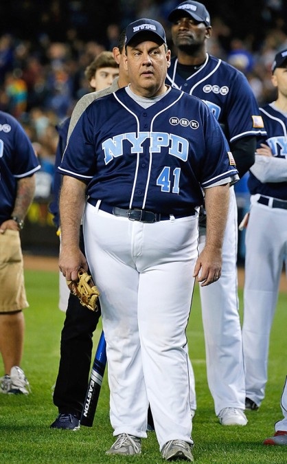 chris christie's camel toe