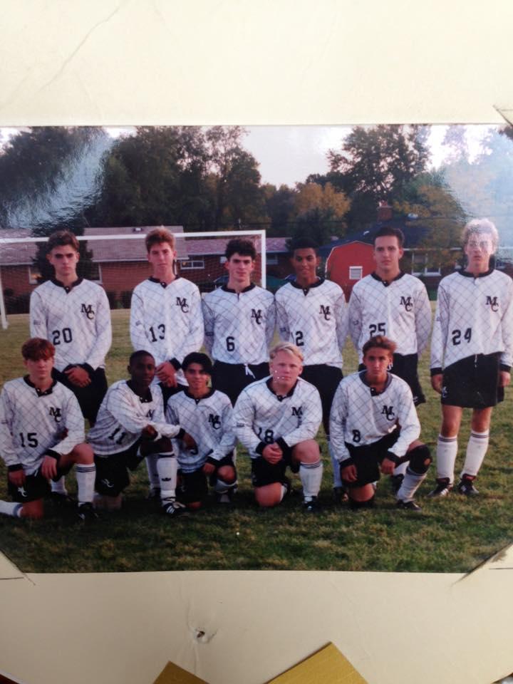 Soccer in midlands America circa 1993