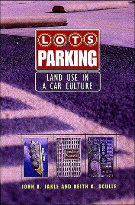 lots of parking land use in a car culture