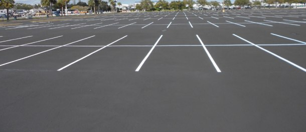 parking lot E