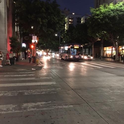 Downtown L.A., November 2015