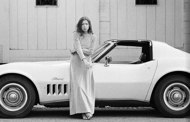 The indomitable Joan Didion, a clear influence on Ellis