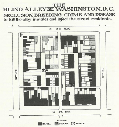 Borchert alley map