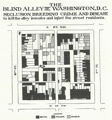 Borchert alley map