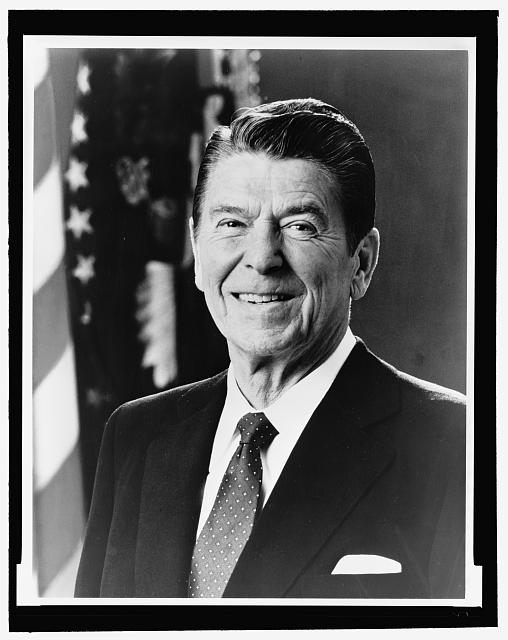 Ronald Reagan, Official White House photo, 1981, Prints and Photographs Division, Library of Congress