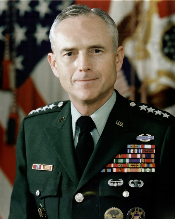 Gen. John A. Wickham, USA